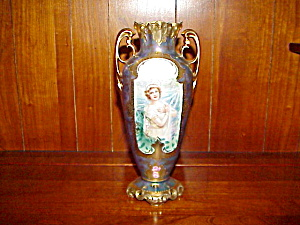 RS PRUSSIA TIFFANY WINTER VASE (Image1)