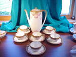 Click here to enlarge image and see more about item 005: RS PRUSSIA CHILD'S COFFEE SET