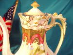 Click to view larger image of RS PRUSSIA(STEEPLE) ROSEBUD DEMI-POT W/GOLD (Image2)