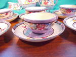 Click to view larger image of MADE IN JAPAN BLUE LUSTRE CHILD'S TEA SET (Image4)