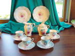 Click here to enlarge image and see more about item 1664: RS PRUSSIA 14 PIECE CHILD'S TEA SET