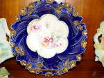 Click to view larger image of RS PRUSSIA COBALT FLORAL BOWL (Image1)