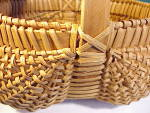 Click to view larger image of LARGE OLD BUTTOCKS BASKET W/FEET (Image2)
