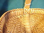 Click to view larger image of LARGE OLD BUTTOCKS BASKET W/FEET (Image3)