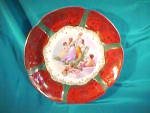"""Click here to enlarge image and see more about item 5k: OS PRUSSIA 11 1/2"""" Plate with Mythological Scene"""