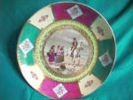 """Click to view larger image of RS PRUSSIA (OS) 10 1/2"""" figural hanging plate (Image2)"""