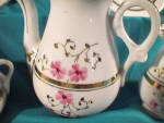 Click to view larger image of UNMARKED 11 PIECE CHILD'S TEA SET W/FLOWERS (Image3)