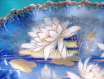 Click to view larger image of RS PRUSSIA (UM) COBALT & GOLD WATERLILIES (Image2)
