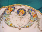 Click to view larger image of YASHINA (NIPPON?) HAND PAINTED PLATE (Image2)