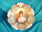 Click to view larger image of RS PRUSSIA BOWL N BOWL LILY MOLD RACAMIER-GOL (Image1)