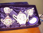 Click to view larger image of DELEON CHILD'S INDIVIDUAL TEA SET/COBALT (Image1)