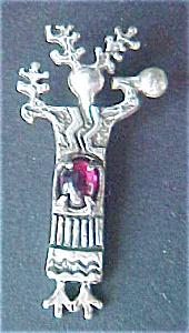 Silver Medicine Woman Pendant (Image1)
