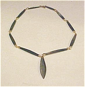 Abalone Shell Necklace (Image1)