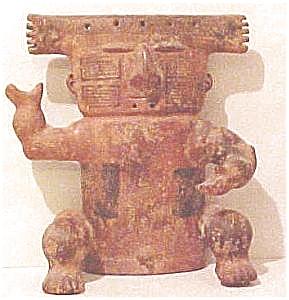 pre-Columbian Style Slab Figure (Image1)