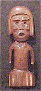 Hand Carved Wooden  Warrior (Image1)