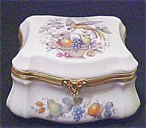 Limoges Porcelain Hinged Box - Exquisite