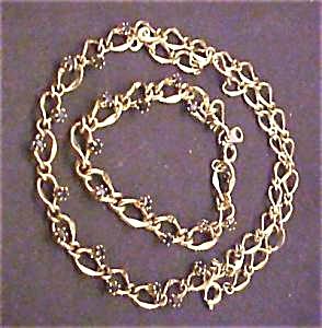 Sapphire Accented Necklace & Bracelet Set (Image1)