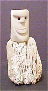 Eskimo Carved Bone Figure (Image1)