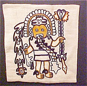 Pre-columbian Style Pillow Cover - #2