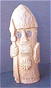 Hand Carved Romanian Folk Art Hero (Image1)