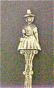 Vintage Welsh Figural Spoon - Souvenir (Image1)