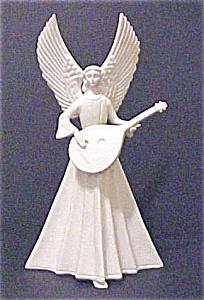 Vintage Porcelain Angel With Mandolin (Image1)