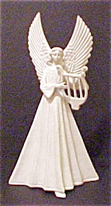 Vintage Porcelain Angel with Harp (Image1)