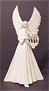 Vintage Porcelain Angel with Harp (Image1)