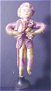 Vintage Gramophone Wire & Cloth Doll (Image1)