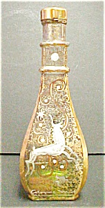 Hand Painted Glass Cologne Bottle (Image1)