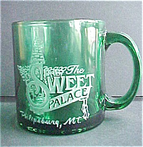 Sweet Palace Green Glass Mug (Image1)