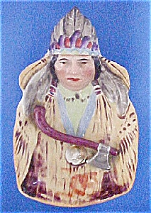 Native American Indian China Tray (Image1)