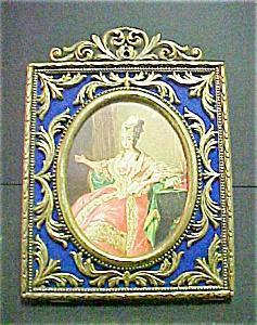 Vintage Italian Brass Metal Frame (Image1)