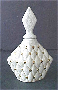 Vintage Ceramic Perfume Bottle - Signed (Image1)