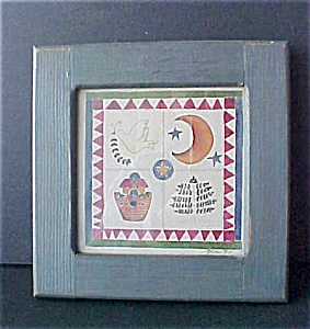 Folk Art Print - Signed & Dated (Image1)