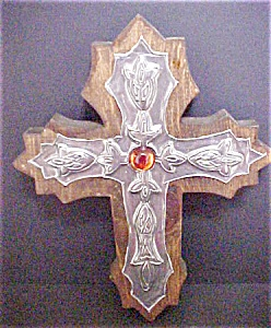 Wood & Metal Worked Cross