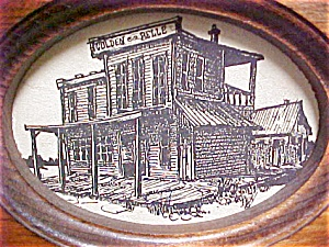 Western Drawing of the Golden Belle Saloon (Image1)