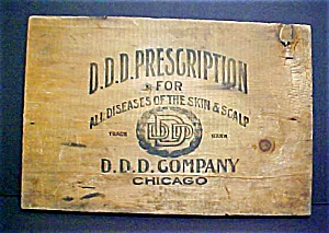 Vintage Ddd Prescription Sign