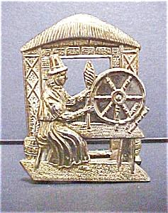 Brass Welsh Figural Souvenir (Image1)