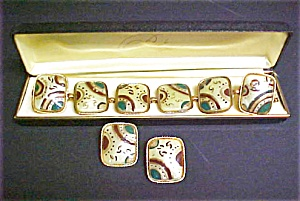 Vintage Art Deco Bracelet/earring Set