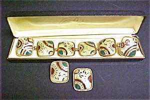 Vintage Art Deco Bracelet/Earring Set (Image1)