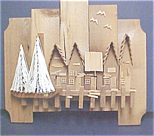 Wooden Art / Harbor  Wall Hanging (Image1)