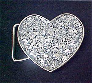 Heart Shaped Metal Belt Buckle (Image1)