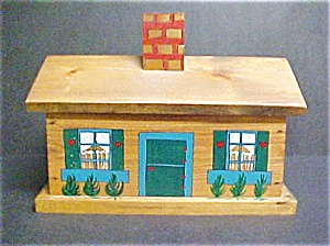 Wooden House/Cottage Box - Handmade (Image1)