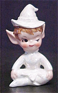 White Luster Glazed Pixie
