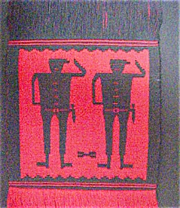 Pre-columbian Style Designs/runner Or Hanging