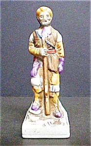 Bisque Porcelain Western Mountain Man (Image1)