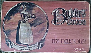 Baker's Coca Advertising Plaque (Image1)