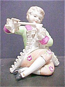 Ceramic 18th Century Style Musician (Image1)