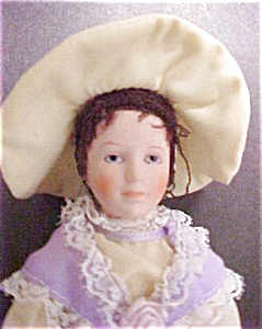 Victorian Porcelain Decorative Figure/Doll (Image1)